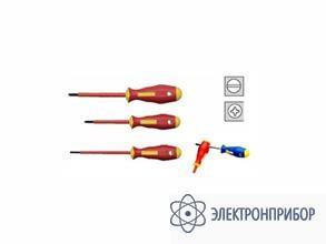 Набор из 3-х отверток, шлицы philips и прямой KL391IS