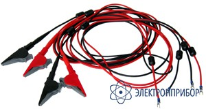 Для коэффициент (комплект из 4 кабелей) Измерительный кабель 10 м (изоляция из силикона)*