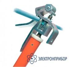 Заземление переносное линейное трехфазное (фазный зажим комбинированного типа) ЗПЛ-10-3/3-25