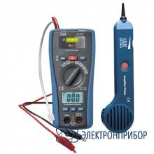 2 в 1: кабель тестер + мультиметр LA-1014