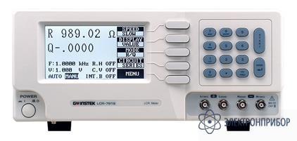Цифровой прецизионный измеритель rlc параметров LCR-7829