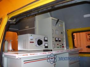 Кабельная лаборатория для обслуживания подстанций ЛП-35