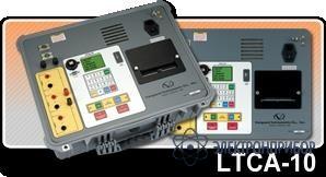 Специализированный трансформаторный омметр с функцией поиска проблем рабочих контактов рпн LTCA-10