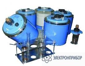 Аппарат для определения текучести и  застывания нефтепродуктов ЛЗН-75М