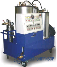 Мобильная установка для регенерации  отработанного трансформаторного масла УРМ®-1000