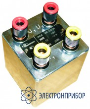 Однозначная герметизированная мера сопротивления  наивысшей стабильности повышенной мощности МС3050М-2 (мера класса 0,002)