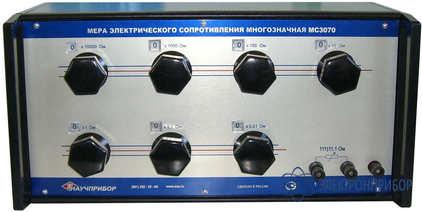 Мера электрического сопротивления постоянного тока многозначная МС3070 кл. 0,005