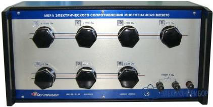 Мера электрического сопротивления постоянного тока многозначная МС3070М-2