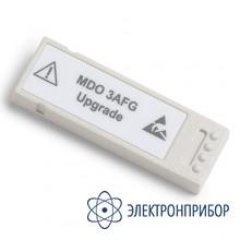Опция цифрового генератора сигналов MDO3AFG