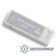 Модуль анализа и запуска по сигналам последовательных аудиошин MDO3AUDIO
