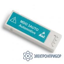 Модуль анализа и запуска по сигналам автомобильных последовательных шин MDO3AUTO