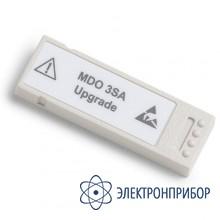 Опция увеличения полосы анализатора спектра MDO3SA