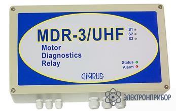 Система мониторинга состояния изоляции высоковольтных генераторов и электродвигателей по частичным разрядам MDR-3/UHF
