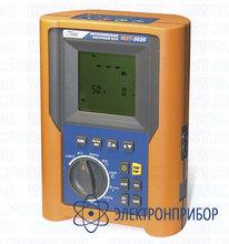 Многофункциональный электрический тестер для измерения параметров электрических сетей и электрооборудования МЭТ-5035