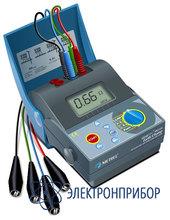 Измеритель сопротивления заземляющих устройств и молниеотводов MI 2124