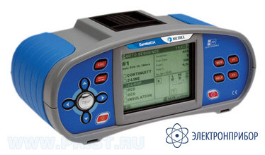Многофункциональный электрический тестер для измерения параметров электрических сетей и электрооборудования MI 3105