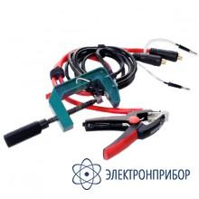 """Измерительный кабель с зажимом """"струбцина"""" (захват до 70мм) СКБ039.21.00.000"""