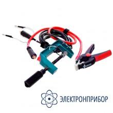 Измерительный кабель с зажимом типа струбцина (захват до 70 мм.) СКБ039.21.00.000-01