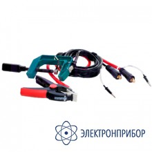 Измерительный кабель с зажимом типа струбцина (захват до 70 мм.) СКБ039.21.00.000-02