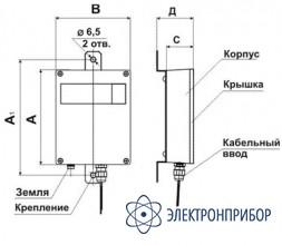 Однофазный догрузочный резистор для трансформаторов напряжения МР3021-Н-100В-5ВА