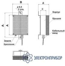 Однофазный догрузочный резистор для трансформаторов напряжения MP3021-Н-100В-30ВА
