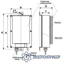 Трехфазный догрузочный резистор для трансформаторов напряжения МР3021-Н-100В-(3х20)ВА