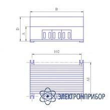 Догрузочный трехфазный резистор для трансформаторов тока МР3021-Т-1А-(3х5)ВА