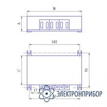 Догрузочный трехфазный резистор для трансформаторов тока МР3021-Т-1А-(3х2)ВА