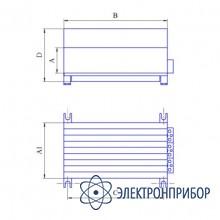 Догрузочный трехфазный резистор для трансформаторов тока МР3021-Т-5А-(3х30)ВА