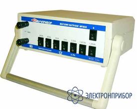 Магазин нагрузок для поверки трансформаторов напряжения MP3025 (100V-200VA)