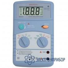 Цифровой мегоомметр MS5201
