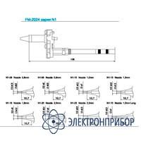 Паяльные сменные композитные головки для hakko fм-2024 N1-23