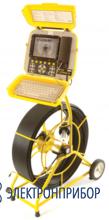 Проталкиваемая система внутритрубной телеинспекции FlexiProbe Р340 камера PAL 25мм, кабель 60м