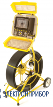 Проталкиваемая система внутритрубной телеинспекции FlexiProbe Р340 камера PAL 50мм, кабель 120м