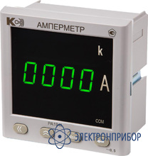 Амперметр переменного тока, одноканальный (дополнительно 1 порт rs-485 modbus rtu) PA194I-2K1T