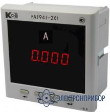 Амперметр 1-канальный (общепромышленное исполнение) PA194I-2X1