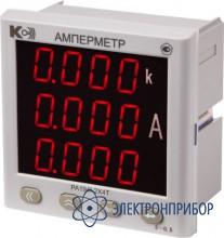 Амперметр 3-канальный PA194I-2X4T