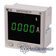 Амперметр постоянного тока, одноканальный (дополнительно 1 порт rs-485 modbus rtu; 4 дискретных входа; 2 релейных выхода) PA195I-2S1T