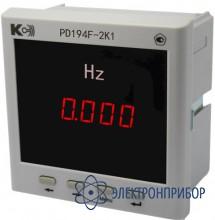 Частотомер (1 порт rs-485, 1 аналоговый выход) PD194F-2K1