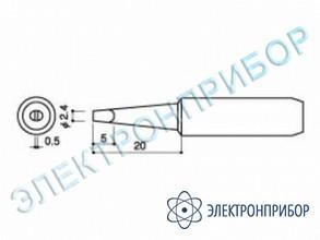 Паяльная сменная головка для паяльников hakko 900l, 908 HAKKO 900 L-T-2.4D