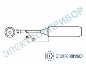Паяльная сменная головка для паяльников hakko 900l, 908 HAKKO 900 L-T-2C