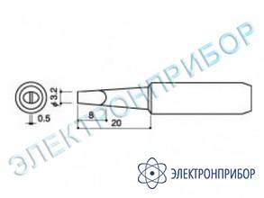 Паяльная сменная головка для паяльников hakko 900l, 908 HAKKO 900 L-T-3.2D