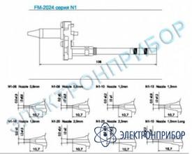 Паяльные сменные композитные головки для hakko fм-2024 N1-13