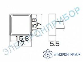 Паяльная сменная композитная головка для станций fx-950/ fx-951/fx-952/fm-203 T12-1208