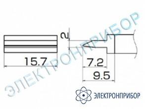 Паяльная сменная композитная головка для станций fx-950/ fx-951/fx-952/fm-203 T12-1402