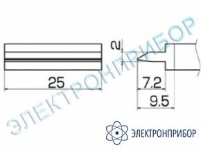 Паяльная сменная композитная головка для станций fx-950/ fx-951/fx-952/fm-203 T12-1404