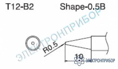Паяльная сменная композитная головка для станций fx-950/ fx-951/fx-952/fm-203 T12-B2