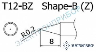 Паяльная сменная композитная головка для станций fx-950/ fx-951/fx-952/fm-203 T12-BZ