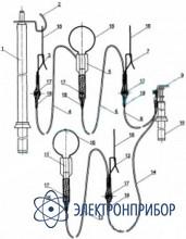 Заземление переносное для распределительных устройств (до 15 кв) ЗПП-15 (сеч. 25мм2)