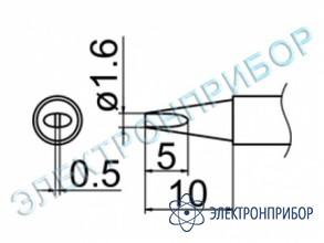 Паяльная сменная композитная головка для станций fx-950/ fx-951/fx-952/fm-203 T12-D16Z